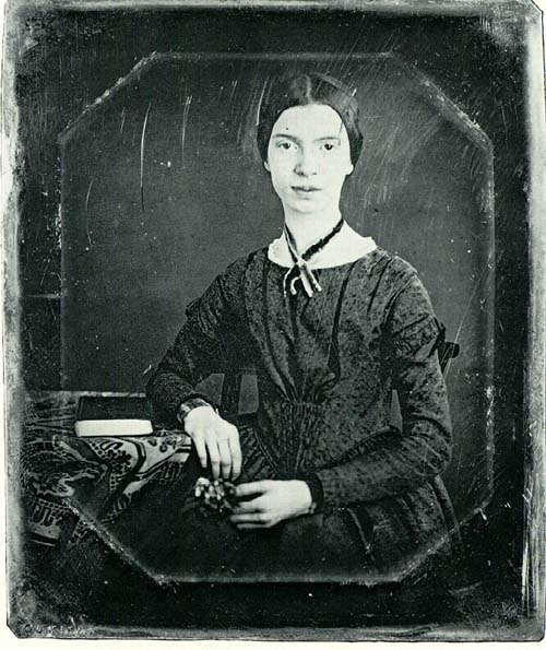Photograph of Emily Dickinson by William C. North circa 1846.