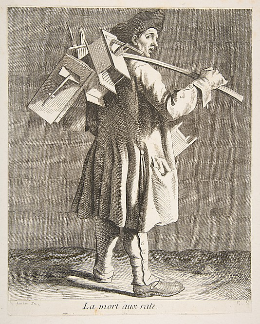 """The Rat Catcher"" by Anne Claude Philippe de Tubières, Comte de Caylus. 1746."