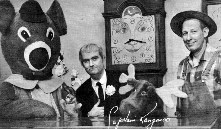 "The cast of ""Captain Kangaroo"". 1961."